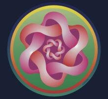 Rose Mandala by Alejandro Cuadra