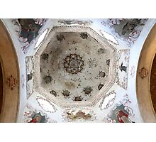 San Xavier Dome Detail 1 Photographic Print