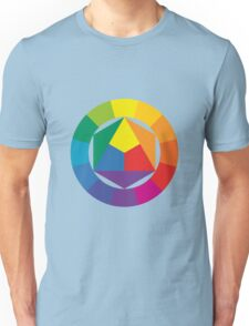 3D Colorful Abstract Shapes Unisex T-Shirt