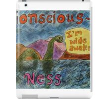 Conscious Ness iPad Case/Skin