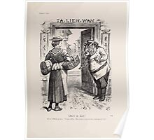 Cartoons by Sir John Tenniel selected from the pages of Punch 1901 0183 Open at Last Poster