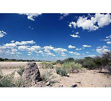 The Edge of the Kalahari Photographic Print