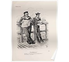Cartoons by Sir John Tenniel selected from the pages of Punch 1901 0135 Confidences Poster