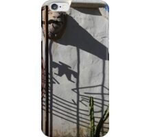 San Xavier Gate Shadow with Cactus 2 iPhone Case/Skin