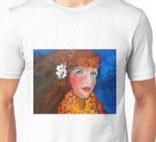 Hula - Sweet Blue Eyed Leilani Unisex T-Shirt