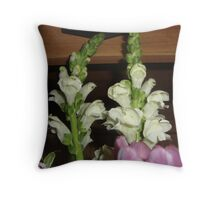 Flowers for Celebration Throw Pillow