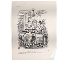 Cartoons by Sir John Tenniel selected from the pages of Punch 1901 0179 Under the Mistletoe Poster