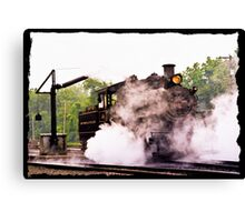 Locomotive & Steam Jenny  Canvas Print