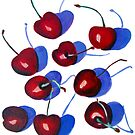 Cherries by marlene veronique holdsworth