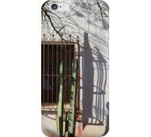 San Xavier Window and Shadows 1 iPhone Case/Skin