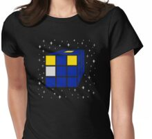 Time and Relative Dimensions in Squares Womens Fitted T-Shirt