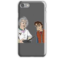 Doc Brown & Marty McFly iPhone Case/Skin