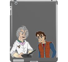 Doc Brown & Marty McFly iPad Case/Skin