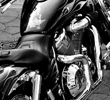 Harley Davidson: Black and White by goodieg