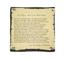 An American Magna Carta.... Scarf