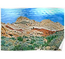 Valley of Fire State Park, Las Vegas, Nevada Poster