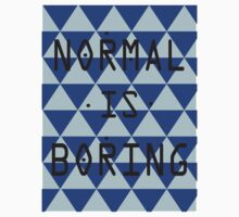 Normal is Boring One Piece - Short Sleeve