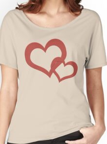Hearts and Love Women's Relaxed Fit T-Shirt