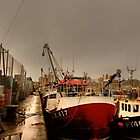 Sutton Harbour Fish Docks by phil hemsley