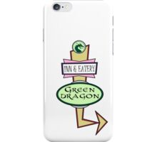 The Green Dragon Serves ALL the Hobbit Meals iPhone Case/Skin