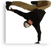 Break dance  Canvas Print