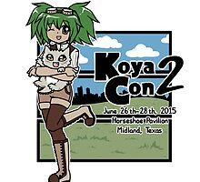 Koya-con 2015 Official T-shirt by koya-con