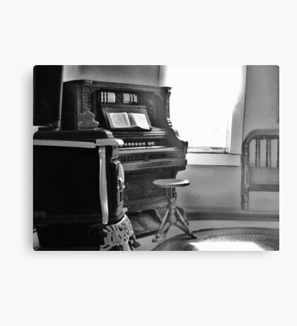 Old Organ Metal Print