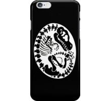 Tyrannosaurus Egg - Black iPhone Case/Skin