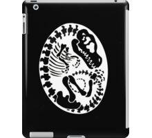 Tyrannosaurus Egg - Black iPad Case/Skin