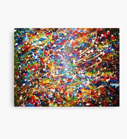 Misty's Pollock Canvas Print