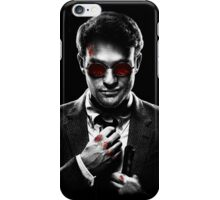 Sin City Matt Murdock [Transparent] iPhone Case/Skin