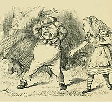 Through the Looking Glass Lewis Carroll art John Tenniel 1872 0104 Only an Old Rattle by wetdryvac