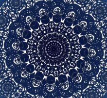 Blue Lace Sticker