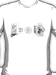 Vintage Movie Cameras T-Shirt