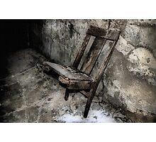 Spirit Chair Photographic Print