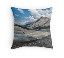 Through the Moraine Throw Pillow