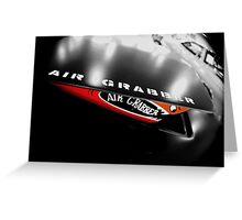 The Air Grabber Greeting Card