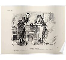 Cartoons by Sir John Tenniel selected from the pages of Punch 1901 0118 Short 'Anded Poster