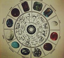 Gemstone Zodiac Wheel by phantastique