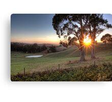 Gippsland Sunrise • Gippsland • Victoria Canvas Print
