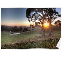 Gippsland Sunrise • Gippsland • Victoria Poster