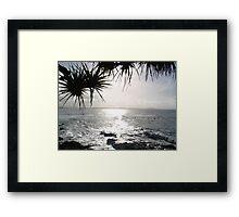 SunShine on the SunShine Coast Framed Print