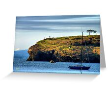 On the Edge of Paradise Greeting Card