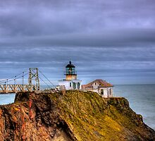 Point Bonita Lighthouse by Justin Baer