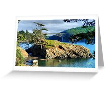 The Edge of Paradise Greeting Card