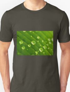 green lines and drops Unisex T-Shirt