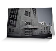 Union Station - Omaha - Durham Museum Series Greeting Card