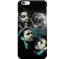 The Mountain Team Free Will Moon - Supernatural Edition iPhone Case/Skin