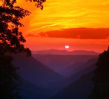 West Virginia Sunset by Don Brogan