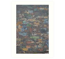 Slums of Lima Art Print